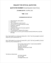 Official Documents Template 53 Quotation Templates Pdf Doc Excel Free Premium