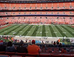 Browns Seating Chart Firstenergy Stadium Section 309 Seat Views Seatgeek