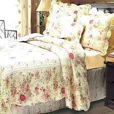 cottage bedding sets quilts french quilt red quilts romantic chic shabby cottage rose quilt set french country beach cottage bedding sets