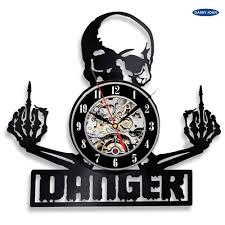 128868 руб 56 скидкавиниловая пластинка настенные часы череп татуировки эскиз