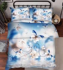 3d erfly 5 bed pillowcases quilt duvet cover set single queen king au dreamy nqvycp7032 bedding sets duvet covers
