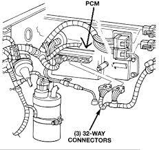 1998 jeep grand cherokee the pcm voltage regulator terminals graphic