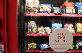 Vending Machine Snack Price List Delectable Light The World Vending Machines Offer Chance To Give Instead Of Get