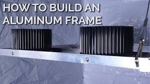 building a frame for your diy led light
