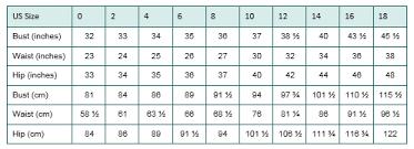 Size Chart Women Womens Jeans Size Chart Otvod