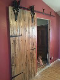 Antique Industrial Hardware Sliding Barn Door | Porter Barn Wood