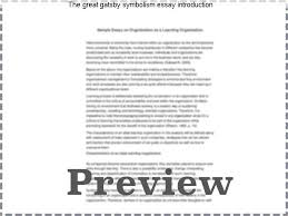 the great gatsby symbolism essay introduction custom paper  the great gatsby symbolism essay introduction color symbolism in f scott fitzgerald s the great gatsby