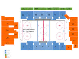 Penn State Ice Hockey Arena Seating Chart Michigan Wolverines Hockey Tickets At Yost Arena On December 7 2019 At 7 30 Pm