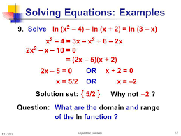 15 solving equations examples