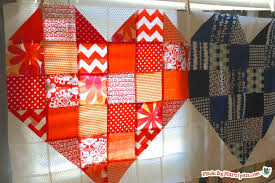 Free Heart Quilt Pattern: Made By Marzipan &  Adamdwight.com