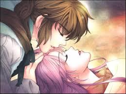 Anime Couple Kiss Wallpapers - Top Free ...