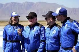 Blue Origin space flight ...