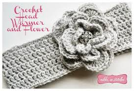 Crochet Free Patterns Gorgeous Crochet Flower And Head Warmer Free Pattern Nikki In Stitches
