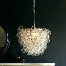 bubble glass chandelier marvellous clear iron and fantastic cha glass bubble chandelier chandeliers blown fantastic chandelie
