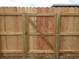 Building A Wooden Privacy Fence Gate