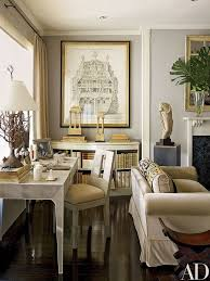 home office living room. An Exquisite Living Room With A Home Office Nook Behind The Sofa And  Matching Refined