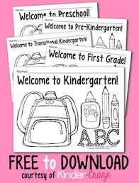Small Picture Coloring Pages for Back to School Pre K 1 classrooms by Maria Gavin