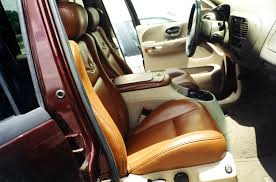 truck seats leather