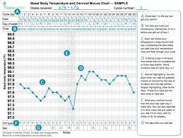 Cervical Mucus Chart Example Get Pregnant Track Your Cycle Basal Body Temperature