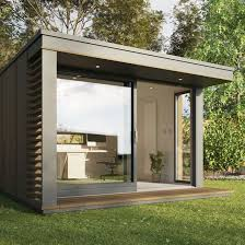 outdoor office pods. Drawn Office Garden #11 Outdoor Pods