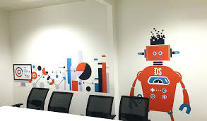 wall paintings for office. Office Wall Paintings Dazzling Design Art Top Vinyl For Offices  Revolution Ideas Decals Stickers .