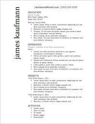 Successful Resume Templates Excellent Resume Templates Free Resume ...