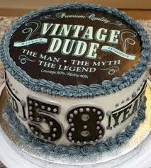 Popular Vintage Dude Themed Birthday Cake Awesome Cakes