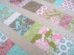 Charm Squares Baby Quilt | Sew Mama Sew & For my quilt, I used a package of charm squares from Tula Pink's Hushabye  collection. These cotton candy, kiwi, aquamarine and cocoa prints are  perfect for ... Adamdwight.com