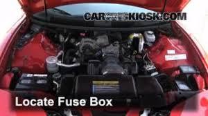 interior fuse box location 1993 2002 pontiac firebird 2001 replace a fuse 1993 2002 pontiac firebird