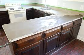 making laminate countertops applying countertop edges trying our hand at concrete counters