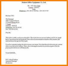 Block Form Business Letter Indented Block Format Business Letter Images Jetxs