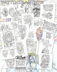 эскиз или трафарет для татуировки Tattoo Flash Tattoo Sketchbook Collection On Cddvd 25 Must Have Ebooks