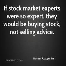 Stock Market Quote Stunning Norman R Augustine Quotes QuoteHD