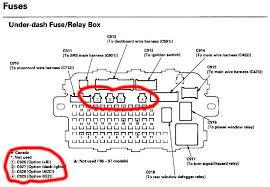 honda integra fuse box honda wiring diagrams