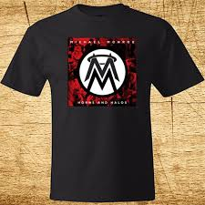 New <b>MICHAEL MONROE HORN</b> AND HALOS Men's Black T Shirt ...