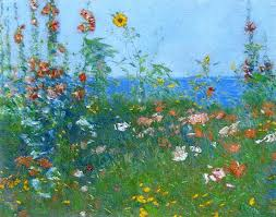 poppies by childe hassam pastel art famous pastel artists network