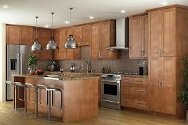pecan shaker kitchen cabinets the rta