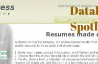 ... Cypress Resume 9 Download Cypress Resume ...