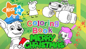 Small Picture Christmas Coloring Book NEW Nick Jr FULL GAME HD Episode YouTube