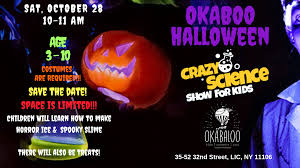 How To Make A Digital Flyer Crazy Science Halloween Show 2018 Digital Flyer The Arts