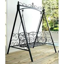 outdoor baby swing with stand outdoor swing with stand metal outdoor porch swing and stand outdoor