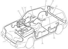 subaru forester wiring harness schematic diagram