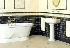 blue and white victorian bathroom tiles wall floor home improvement winning brochure