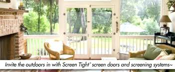 screen tight porch screening system fast track vinyl doors on stylish home designing inspiration with screen tight
