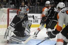 La Kings Vs Philadelphia Flyers Game 1 Recap Kings Blank Flyers