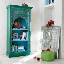 bohemian furniture online. treat your interior to some charming indian furniture with the madras bookcasemade from recycled bohemian online r
