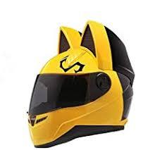 Hnj personality cool cat ears electric motorcycle helmet full helmet summer men and women racing couple motorcycle helmet. Motorcycle Helmets With Cat Ears Here S How To Get Yours