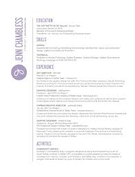 resume tips   digital arts  amp  design   graphic designresume sample