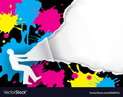 free color printing.  Printing Color Printing Promotion Background Vector Image Inside Free Printing N