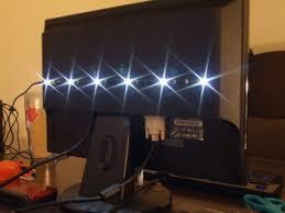 monitor lighting. monitor lighting